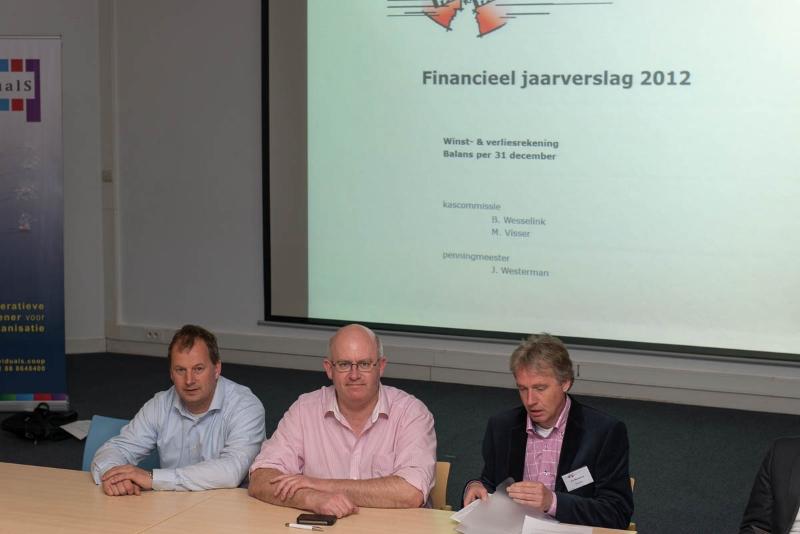 Face to Face Voorjaarsconferentie 2013: Algemene Ledenvergadering